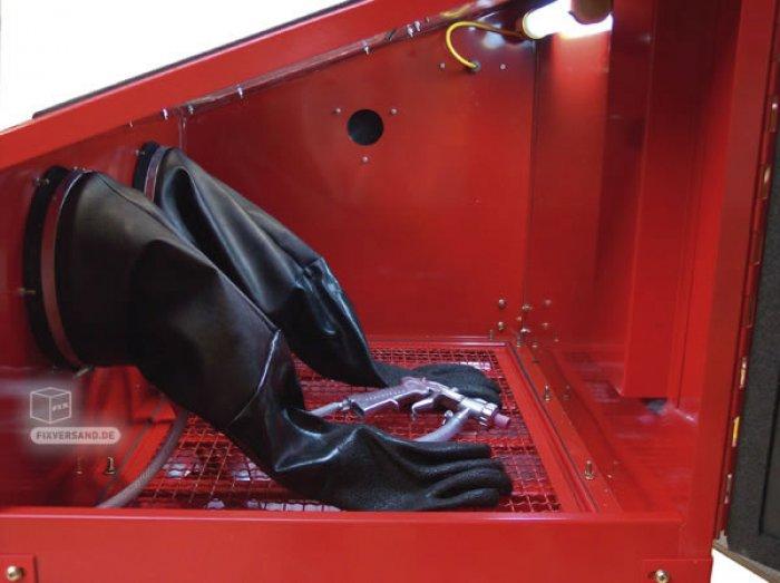 Cabine de sablage / sableuse - 220 L