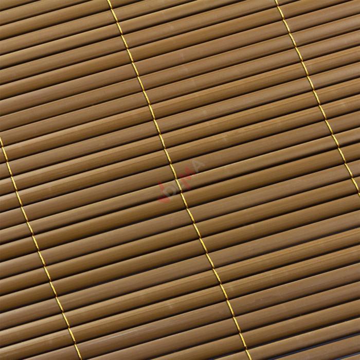 Brise-vue Marron 100 x 500 cm