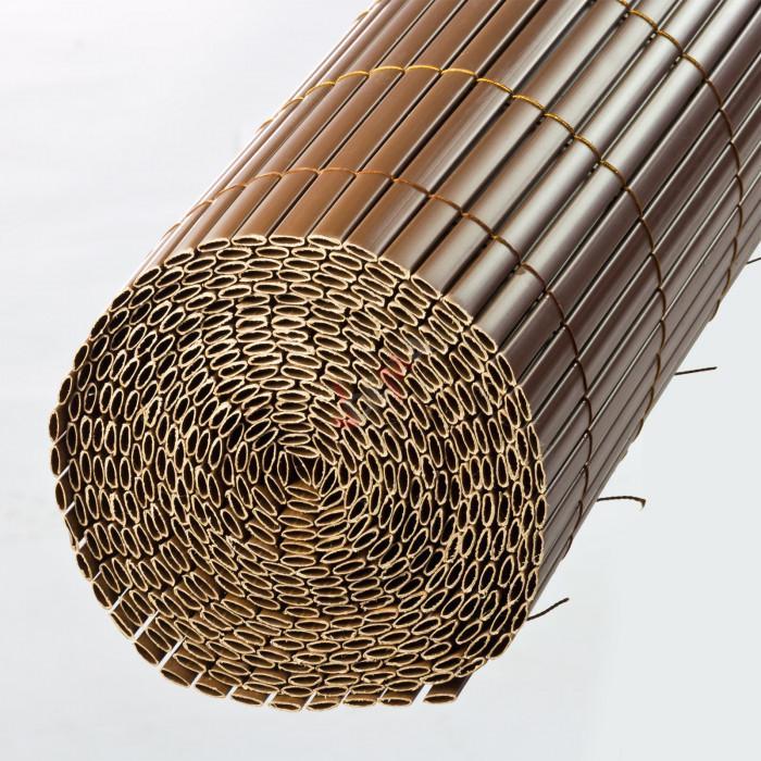 Brise-vue Marron 140 x 500 cm