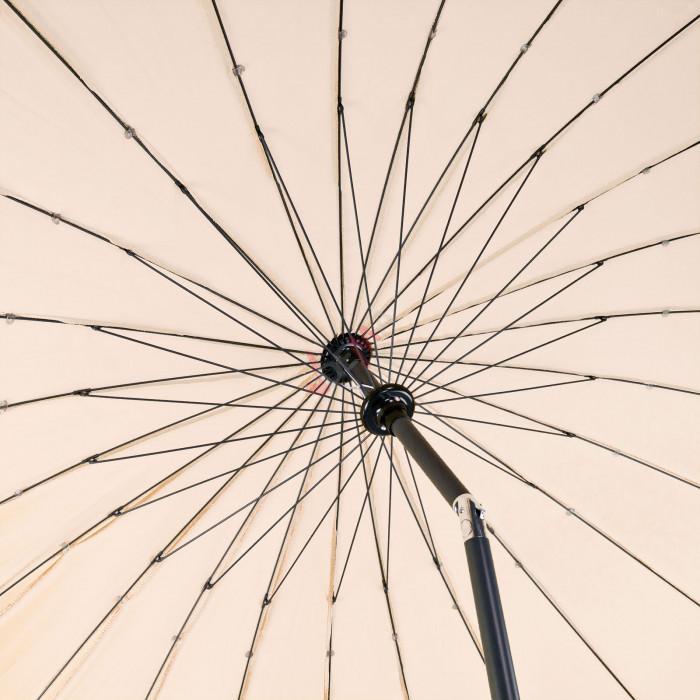 Parasol Tokio 2,5 m - Ecru
