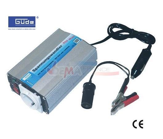 GÜDE - Convertisseur 200/400 - 12/220 V