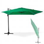 Parasol déporté Verona - 3 x 3 m - Vert