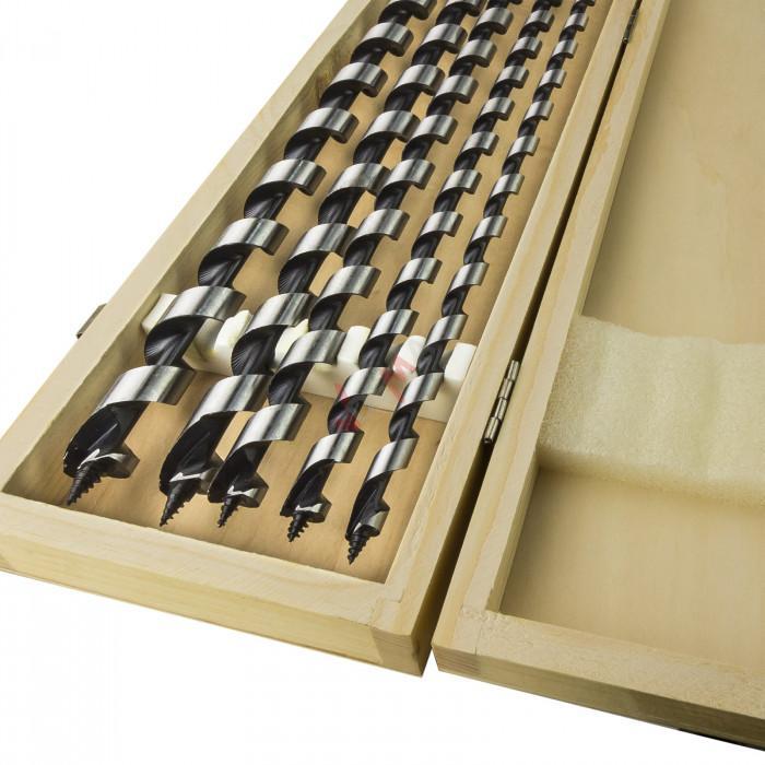 Foret à bois - Coffret 5 pièces