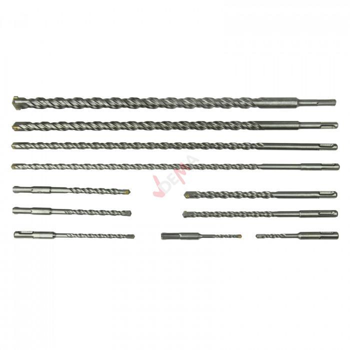 Foret SDS-plus pour béton - Coffret 11 pièces