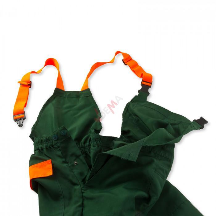 Salopette de sécurité / Pantalon Eco anti-coupures Taille S