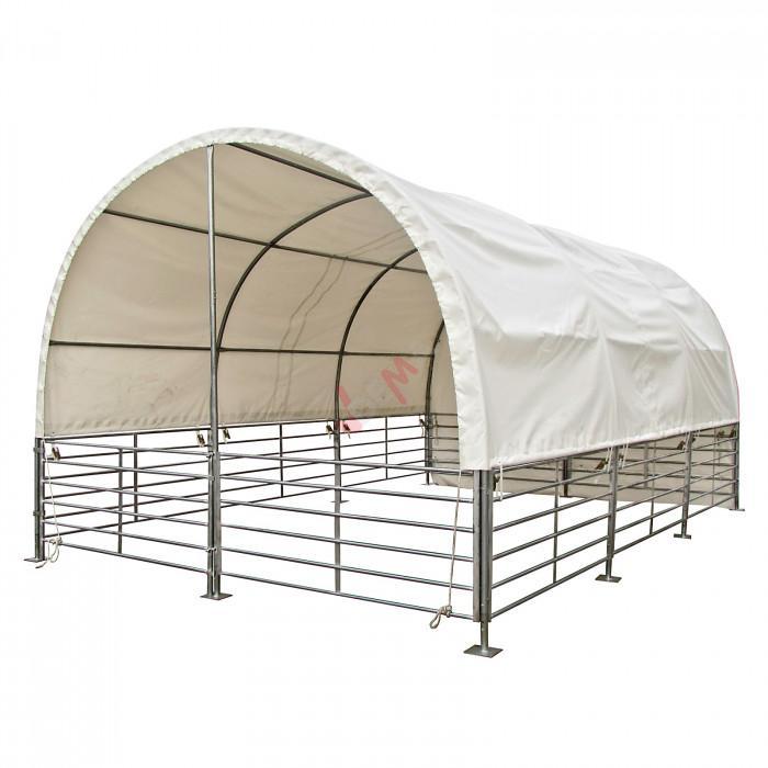 Abri de prairie chevaux bovins - mobile 4 x 6 mètres