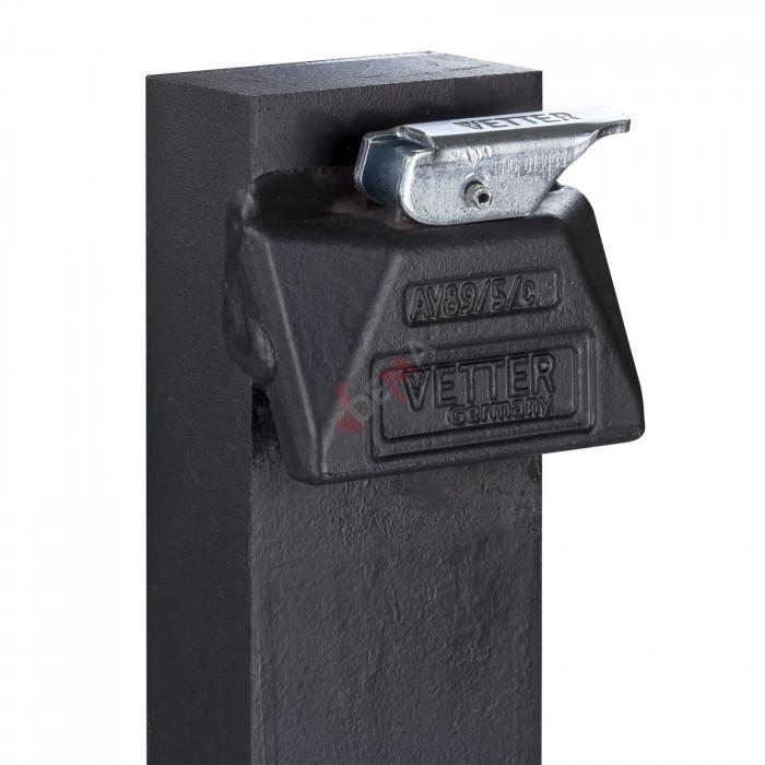 Fourche pour bâti transpal D52441 - 80 x 40 x 1200 mm - ISO FEM 2A