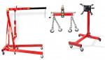 Pack - Grue atelier 2 T + Balancier 1000 kg + Support moteur 450 kg