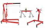 Pack - Grue atelier 2 T + Balancier 750 kg + Support moteur 570 kg