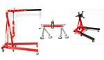 Pack - Grue atelier 2 T + Balancier 1000 kg + Support moteur 900 kg