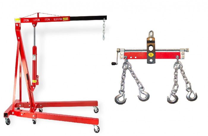 Pack - Grue atelier 2 T + Balancier 750 kg