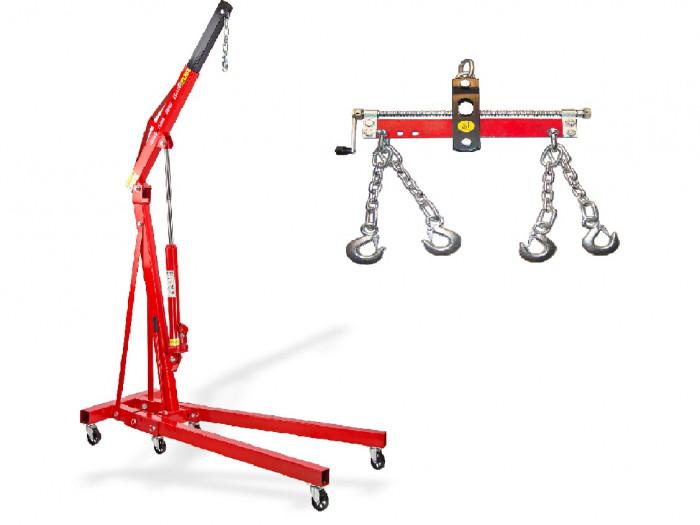 Pack - Grue atelier 1 T + Balancier 1000 kg