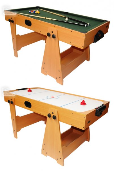 billard air hockey 2 en 1 billard air hockey baby foot. Black Bedroom Furniture Sets. Home Design Ideas