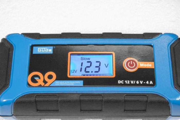 Chargeur de batterie automatique GAB 12V/6V - 4 A
