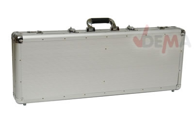 Valise alu transport arme instrument musique int. 800 x 300 x 90 mm