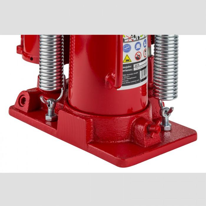 Cric Hydraulique ET pneumatique - 12 Tonnes - Hauteur maxi 460 mm