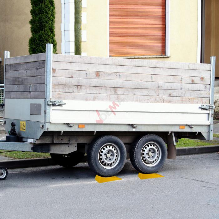 Cales de roues - Remorque - Camion - Caravane / Lot de 2