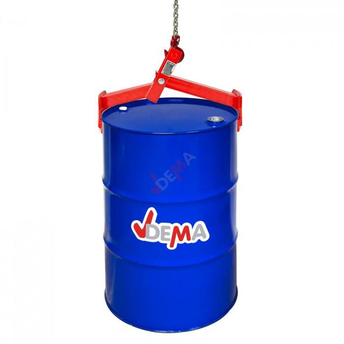 Griffe lève fut vertical 500 kg - axe 19 mm - pour baril jusqu'à 210 L