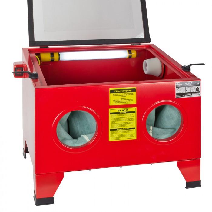 Cabine de sablage / sableuse 90 Litres