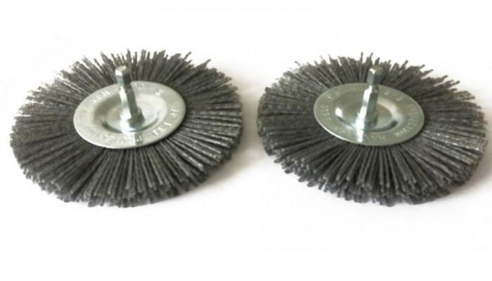 Brosses nylon pour nettoyeur de joints G94317 - lot de 2