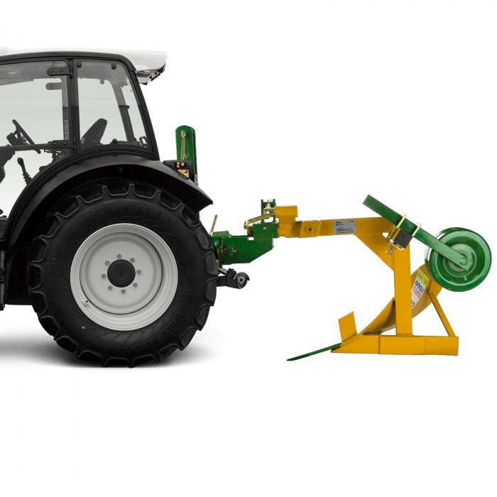 Charrue simple 1 soc DBP1 pour tracteur attelage 3 points cat. 1