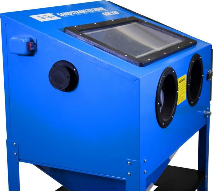 Cabine de sablage - Sableuse GSK 220 litres