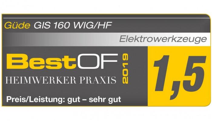 Poste à souder Inverter GIS 160 TIG/HF
