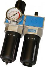 Filtre régulateur et lubrificateur pour compresseur