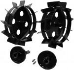 Paire de roues métalliques GMR 420 pour motoculteur G95180 et G95187