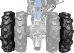 Jeu de roues doubles GDB 62 pour motoculteur G95180 et G95187