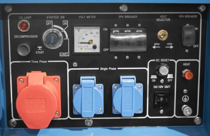 Groupe électrogène GSE 5501 DSG - Diesel