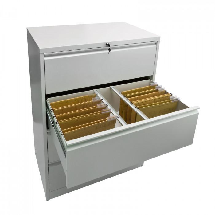 Armoire classeur 4 tiroirs pour dossiers suspendus A4