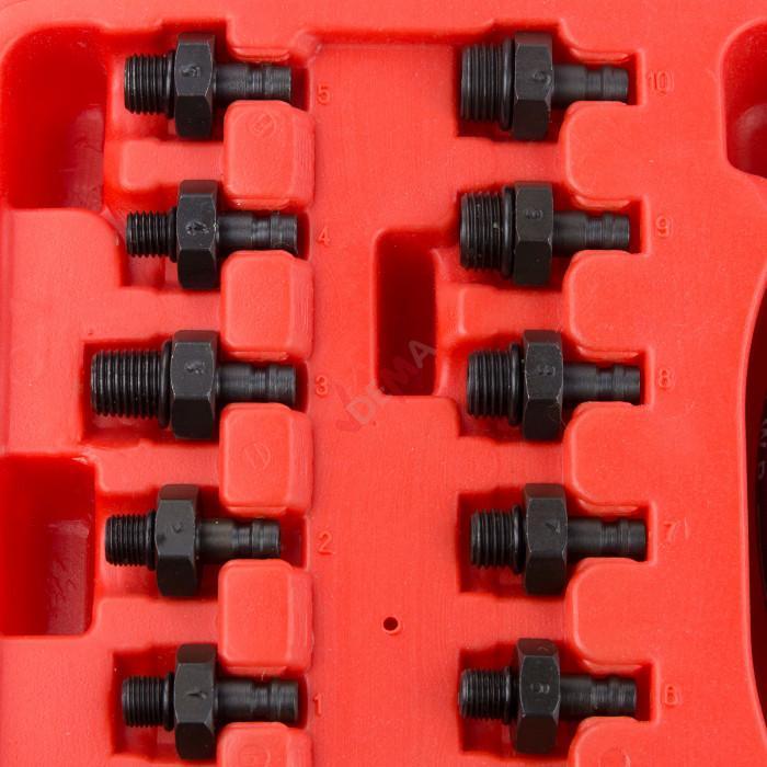 Testeur de pression d'huile Pro 13 pièces