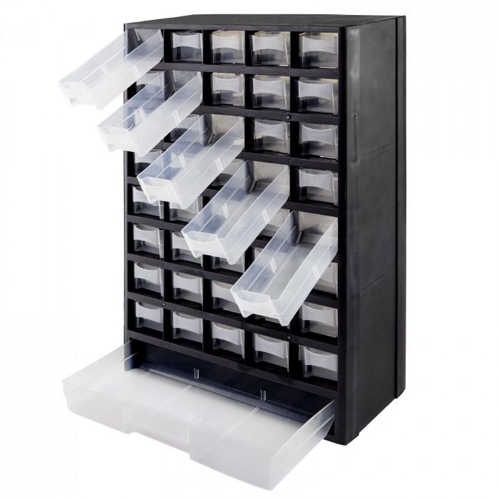 Casier de rangement 41 compartiments PVC