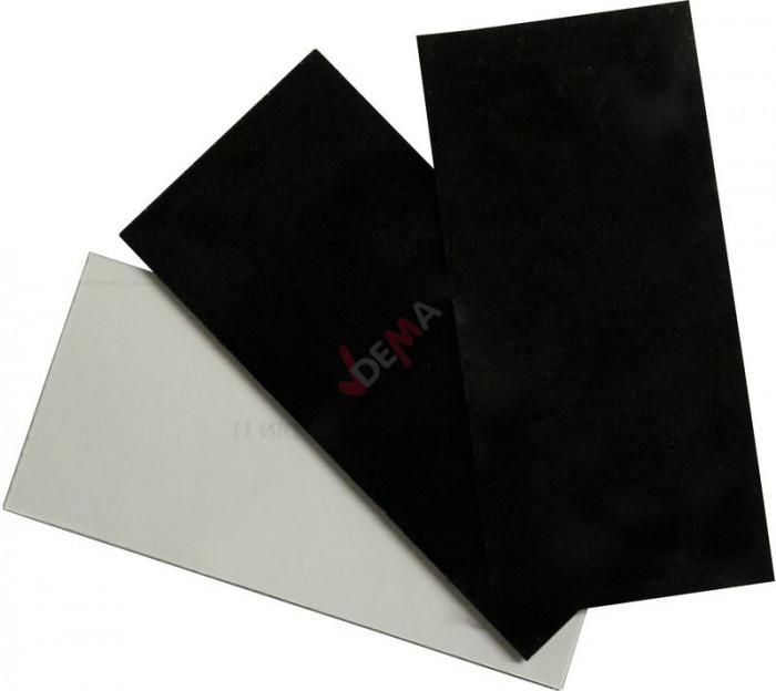 Verre protecteur pour bouclier de soudure 108 x 51 mm - 3 pièces