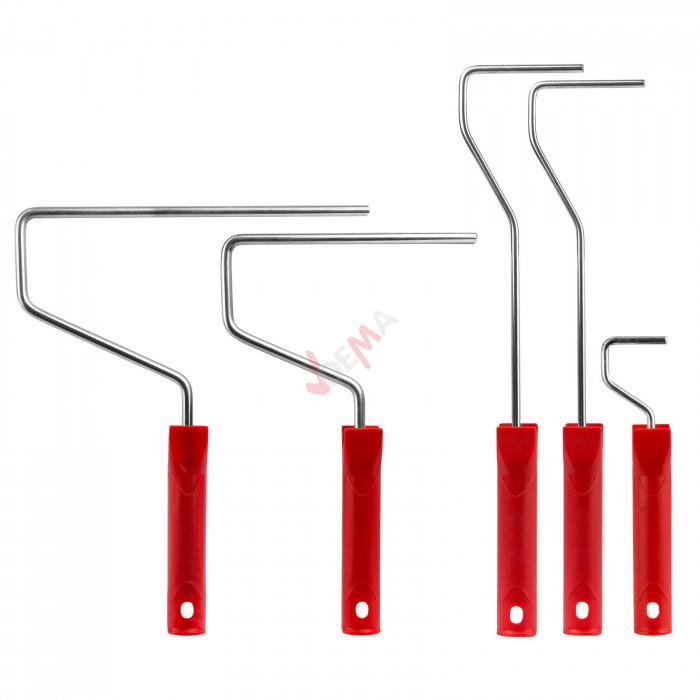 Rouleaux à peinture - 5 rouleaux + 5 supports