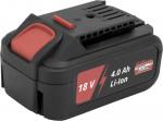 Batterie / Accu Li-Ion 18 V - 4.0 Ah pour outils sans fil
