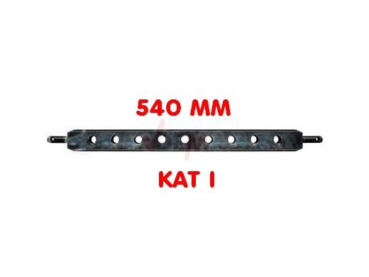 Barre de relevage professionnelle agricole 540 mm CAT I acier robuste
