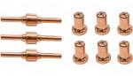 Set accessoires pour découpeur plasma G20092 - 9 pièces