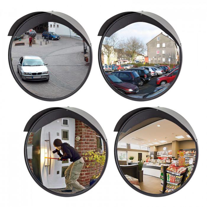 Miroir panoramique de sécurité 30 cm