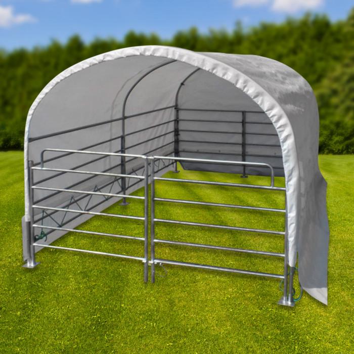 Abri de prairie mobile 2 x 3 m - chevaux / bovins