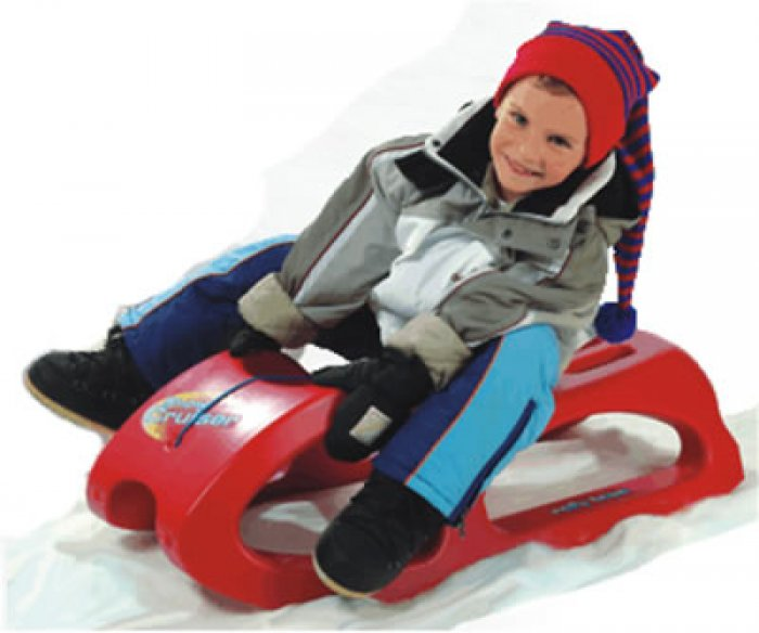 Luge SNOW CRUISER  Rouge Rolly Toys