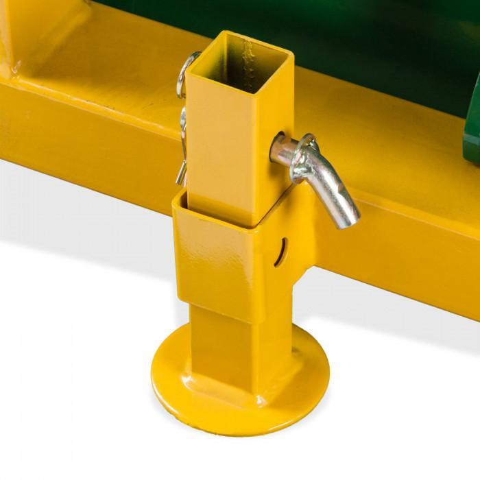 Godet arrière hydraulique 3 points DHS 140 HY
