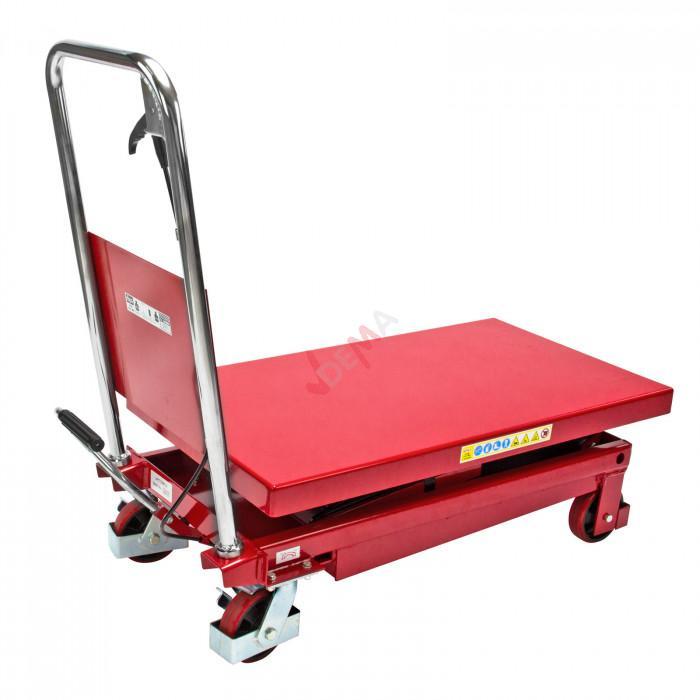 Chariot de manutention - Table élévatrice - 350 kg