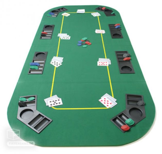 Tapis De Poker 8 Joueurs Jeux De Cartes Poker