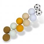 """Balles pour baby-foot """"standard"""" - 12 pièces"""