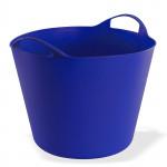 Panier flexible multifonctions 25 litres Bleu / Jardin - linge - bois