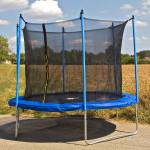 Trampoline 3050 mm avec filet de protection extérieur adulte/enfant