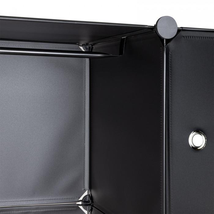 Etagère Rayonnage 20 casiers - Noir