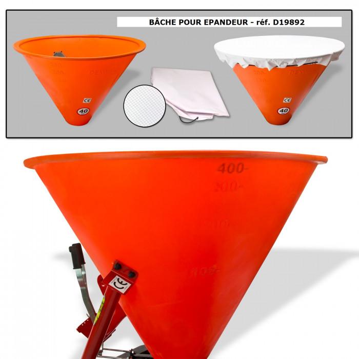 Epandeur grandes et moyennes surfaces - 400 litres - Cat 1 + 2